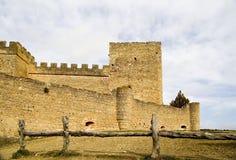 Pedraza Castle stock photos