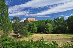 Pedraza castle, Castile region, Spain Royalty Free Stock Photos