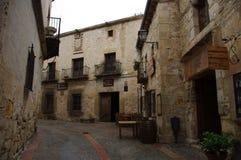 Pedraza medieval village, Segovia, Spain Stock Image