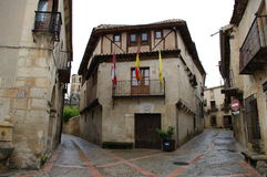Pedraza medieval village, Segovia, Spain Royalty Free Stock Images