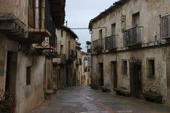 Pedraza medieval village, Segovia, Spain Stock Photo