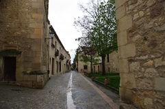 Pedraza medieval village, Spain Royalty Free Stock Photo