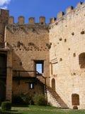 Pedraza´s castle Stock Photography