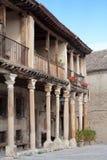 Pedraza's Main Square. The main square of Pedraza, Segovia (Spain Stock Photography