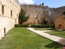 Pedraza´s Schloss Stockbild