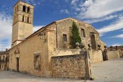 Pedraza, Segovia provincie, Castilla, Spanje stock afbeeldingen