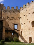 Pedraza´s castle Stock Photography
