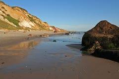 Pedregulhos da praia foto de stock royalty free