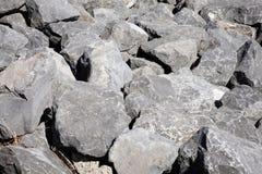 Pedregulhos da rocha Imagem de Stock
