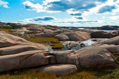 Pedregulhos do granito Fotos de Stock
