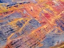 Pedreira colorida Imagem de Stock