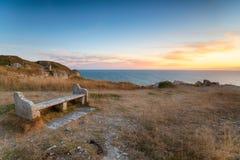 Pedreira da candonga em Dorset Imagem de Stock