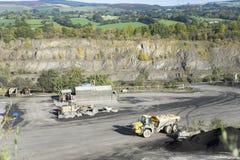 Pedreira da pedra calcária, Clitheroe Fotografia de Stock Royalty Free