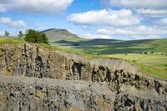 Pedreira de Arcow, Horton em Ribblesdale, Yorkshire Imagens de Stock