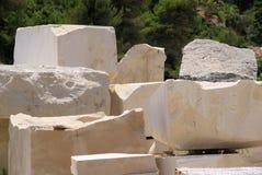 Pedreira de mármore Fotos de Stock Royalty Free