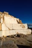 Pedreira de mármore abandonada Fotografia de Stock