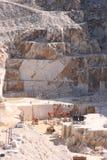 Pedreira de mármore branca Imagem de Stock Royalty Free