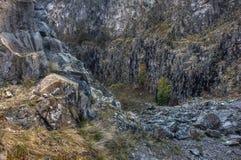 Pedreira de pedra Imagens de Stock