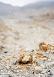 Pedreira do cobre, do ouro e da prata Fotografia de Stock Royalty Free