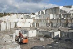 Pedreira do granito Imagens de Stock