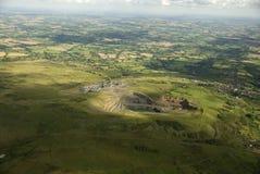 Pedreira do monte de Clee. Reino Unido. Fotografia de Stock