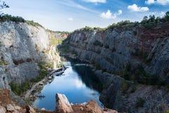 Pedreira - Mala Amerika, República Checa, UE Fotografia de Stock Royalty Free
