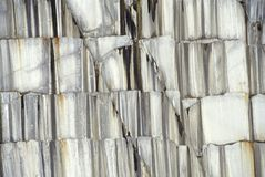 A pedreira monumental a maior do granito na barra, VT Fotos de Stock Royalty Free