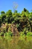 Pedreira no parque natural de Bukit Batok Foto de Stock