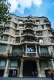 Pedrera house Stock Images