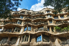 Pedrera house Royalty Free Stock Photos