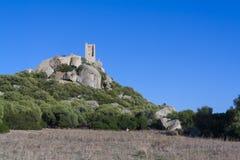 Pedres城堡  库存图片