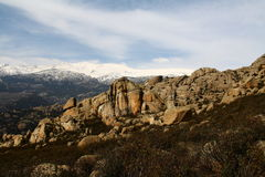 pedrisa горы Стоковое Изображение