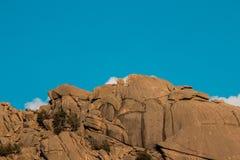 Pedriza góry w sierra de Guadarrama, Madryt Hiszpania mounta obraz royalty free