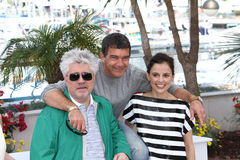 Pedro Almodovar, Antonio Banderas  and Elena Anaya Stock Photo