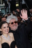 Pedro Almodovar and Elena Anaya Stock Image