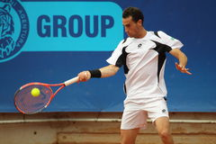 Pedro Clar-Rosello - Prague Open 2011 Royalty Free Stock Photo