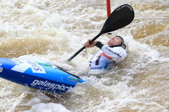 Pedro da Silva - water slalom world championship Royalty Free Stock Photography
