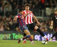 Pedro de FC Barcelona Fotos de archivo libres de regalías