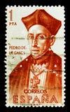Pedro de la Gasca, descoberta do serie de América, cerca de 1962 imagem de stock