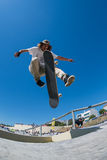 Pedro Fangueiro during the DC Skate Challenge Royalty Free Stock Photography