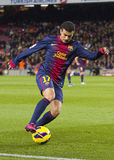 Pedro of FC Barcelona Stock Images