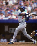 Pedro Guerrero. Los Angeles Dodgers slugger Pedro Guerrero.  (Image taken from color slide Royalty Free Stock Photos