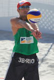 Pedro Henrique Cunha - beach volleyball Stock Images