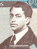Pedro Henriquez Urena portrait Royalty Free Stock Photography