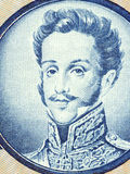 Pedro I of Brazil portrait Royalty Free Stock Photography
