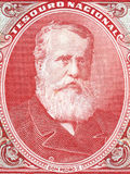 Pedro II of Brazil portrait Royalty Free Stock Images