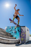 Pedro Machado during the DC Skate Challenge Royalty Free Stock Photography
