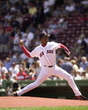 Pedro Martinez, Boston Red Sox lizenzfreie stockbilder