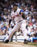 Pedro Martinez, Boston Red Sox. Boston Red Sox ace Pedro Martinez #45. (Image taken from color slide Royalty Free Stock Photo