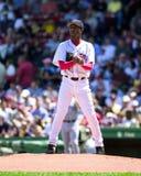Pedro Martinez, Boston Rode Sox Stock Afbeelding